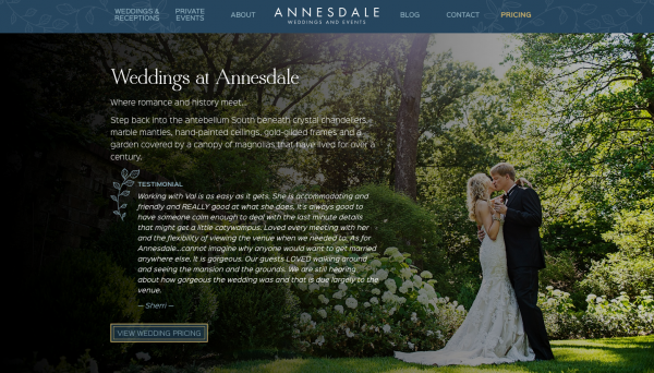 Annesdale Site Launch