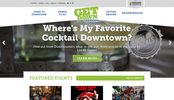 'Get Down Memphis' Site Launch